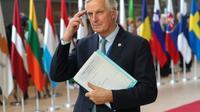 Le négociateur de l'UE sur le Brexit Michel Barnier, le 17 octobre 2019 à Bruxelles [ARIS OIKONOMOU / AFP/Archives]