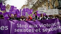 Manifestation contre les violences sexistes et sexuelles, à Paris le 24 novembre 2018 [- / AFP]