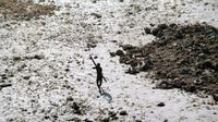 La peur de maladies aussi bénignes qu'un rhume, qui pourrait décimer la tribu, l'ont maintenue dans une bulle [Handout / Indian Coast Guard/AFP/Archives]