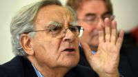 Bernard Pivot, président de l'Académie Goncourt, le 26 octobre 2015 à Tunis [FETHI BELAID / AFP/Archives]