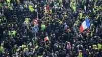 Rassemblement pour la manifestation du 1er mai devant la Tour Montparnasse, à Paris, le 1er mai 2019 [Martin BUREAU / AFP/Archives]