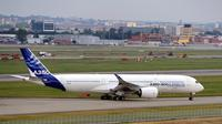 L'A350 d'Airbus. Photo d'illustration.