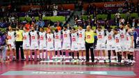 L'équipe de France de handball est actuellement au Qatar pour disputer la Coupe du monde.