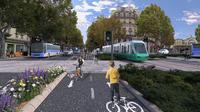 S'il est élu, David Belliard envisage de créer une ligne de tram de 10 km de la gare du Nord à la gare Montparnasse, en passant par 3 autres gares.