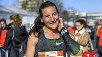 Clémence Calvin a été sacrée vice-championne d'Europe du marathon en août dernier à Berlin.