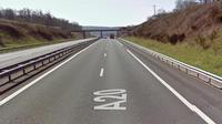 L'accident s'est produit lundi matin sur l'autoroute A20, dans l'Indre, à proximité de la commune de Tendu.