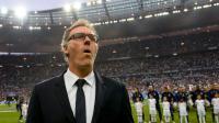 Laurent Blanc, alors entraîneur du PSG, lors de la finale de Coupe de France contre Marseille au Stade de France, le 21 mai 2016 [FRANCK FIFE / AFP/Archives]