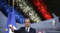 François Hollande présente ses voeux à l'armée française sur la base aérienne 110 de Creil, près de Paris, le 8 janvier 2014 [Philippe Wojazer / Pool/AFP/Archives]