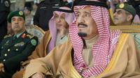 Le roi Salmane d'Arabie saoudite, le 25 janvier 2017 à Ryad [BANDAR AL-JALOUD / Saudi Royal Palace/AFP]