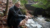 David Huff, responsable de la petite commune de Osceola Township du nord des Etats-Unis qui contrecarrer l'ambition de Nestle d'extraire pour un montant dérisoire davantage d'eau des rivières locales, le 11 janvier 2018 [Steven M. Herppich / AFP]