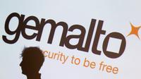 Gemalto vient d'être racheté par Thales [KENZO TRIBOUILLARD / AFP/Archives]