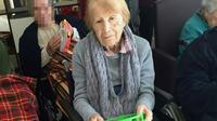 Maria Babes, une femme de 101 ans séquestrée dans une maison, photographiée dans une maison de retraite à Cadix, sur une photo diffusée le 7 mars 2019 par la garde civile espagnole [Handout / Spanish Guardia Civil/AFP]