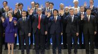 Les grands dirigeants mondiaux au premier jour du G20 le 30 novembre 2018, à Buenos Aires, en Argentine [JUAN MABROMATA / AFP]