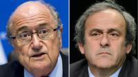 Photomontage de Joseph Blatter et Michel Platini [DESK / AFP/Archives]