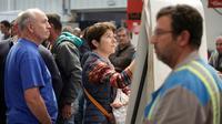 Réunion des salariés de l'usine de GM&S à La Souterraine, le 29 juin 2017 près de Limoges [PASCAL LACHENAUD / AFP]