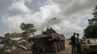 Un véhicule militaire français de l'opération Sangaris à Bangui en Centrafrique, le 26 novembre 2015  [GIANLUIGI GUERCIA / AFP/Archives]