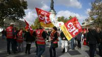 Manifestation à l'appel de la CGT, le 23 septembre 2015 à Paris [Thomas Samson / AFP/Archives]