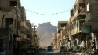 Une rue de Palmyre en Syrie, le 31 mars 2016 [JOSEPH EID / AFP/Archives]