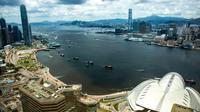 Hong Kong le 1er juillet 2019, le jour-anniversaire de la rétrocession de cette ex-colonie britannique à la Chine. [DALE DE LA REY / AFP/Archives]