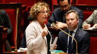 La ministre du Travail Muriel Pénicaud le 7 novembre 2017 à l'Assemblée nationale à Paris [FRANCOIS GUILLOT / AFP]