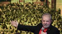 L'ex-président brésilien Luiz Inácio Lula da Silva, le 1er juin 2017 à Brasilia [EVARISTO SA / AFP/Archives]