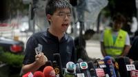 Le militant pro-démocratie Joshua Wong, à Hong Kong le 2 juillet 2019 [Vivek PRAKASH / AFP/Archives]