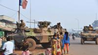 Soldats français en patrouille le 14 février 2016 à Bangui [ISSOUF SANOGO / AFP/Archives]
