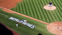 La scène a eu lieu lors du troisième match de la finale de la Ligue majeure de baseball américaine entre les Houston Astros et les Los Angeles Dodgers.
