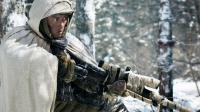 """Un soldat de l'armée de libération populaire dans le nouveau film de Tsui Hark """"La bataille de la montagne du tigre""""."""