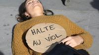 Rassemblement contre les violences sexistes et sexuelles à l'appel de #Noustoutes, le 29 septembre 2018 à Paris [Zakaria ABDELKAFI / AFP/Archives]