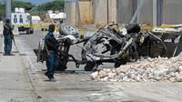 Attentat suicide à la voiture piégée le 26 juillet 2016 à Mogadiscio [MOHAMED ABDIWAHAB / AFP]