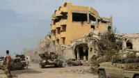 Les forces loyales au gouvernement libyen d'union nationale ont lancé une offensive à Syrte, contre l'EI le  12 mai 2016 [Mahmud Turkia / AFP/Archives]