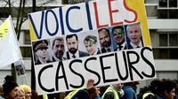 """Manifestation de """"gilets jaunes"""" à Paris, le 7 décembre 2019 [Philippe LOPEZ / AFP]"""
