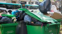Les poubelles débordent à Paris, le 9 juin 2016 [GEOFFROY VAN DER HASSELT / AFP]