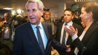 Philippe Richert des Républicains au siège du parti à Strasbourg le 6 décembre 2015 [SEBASTIEN BOZON / AFP]
