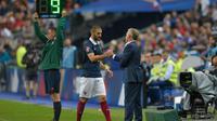"Karim Benzema ""rêve de jouer l'Euro"" avec Mathieu Valbuena."