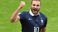 Auteur d'un doublé, Karim Benzema a porté les Bleus vers la victoire contre le Honduras (3-0)
