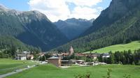 Le village de Bergün, en Suisse