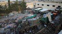 De l'aide humanitaire éparpillée à terre à Orum al-Kubra près d'Alep, le 20 septembre 2016 au lendemain du raid aérien meurtrier contre un convoi humanitaire  [Omar haj kadour / AFP]