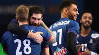 Nikola Karabatic et les Français à 60 minutes du bonheur [FRANCK FIFE / AFP/Archives]