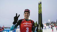 Quentin Fillon Maillet a décroché deux médailles de bronze à Ostersund.