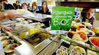 La loi agriculture et alimentation prévoit l'introduction de 20 % de produits bio en restauration collective publique d'ici à 2022.