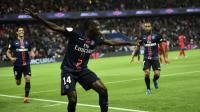 Blaise Matuidi et ses coéquipiers possèdent actuellement cinq points d'avance sur Angers, surprenant 2e de Ligue 1.
