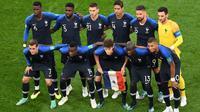 Les Bleus ont porté à chaque match des couleurs différentes (ici, contre la Belgique).