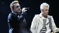 Bono et son groupe U2 en concert à Bercy le 6 décembre