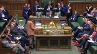 «Une motion sur le retrait du Royaume-Uni de l'Union européenne sera présentée vendredi», a annoncé Mme Leadsom aux députés