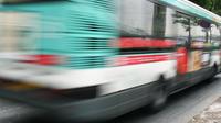 La scène s'est déroulée dans un bus de la RATP dans le nord de la capitale (photo d'illustration).