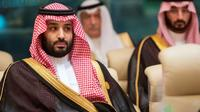 Le prince héritier d'Arabie saoudite Mohammed ben Salmane, le 31 mai 2019 à La Mecque pendant une réunion du Conseil de coopération du Golfe [BANDAR AL-JALOUD / Saudi Royal Palace/AFP/Archives]