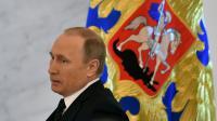 Le président russe Vladimir Poutine arrive au Kremlin à Moscou le 3 décembre 2015 [KIRILL KUDRYAVTSEV / AFP]