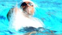 L'Américain Michael Phelps lors des séries du 200 m 4 nages aux Championnats de Etats-Unis à Irvine (Californie), le 10 août 2014 [Harry How / Getty/AFP]
